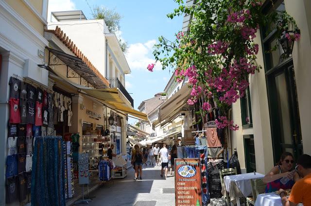 ruas de Atenas