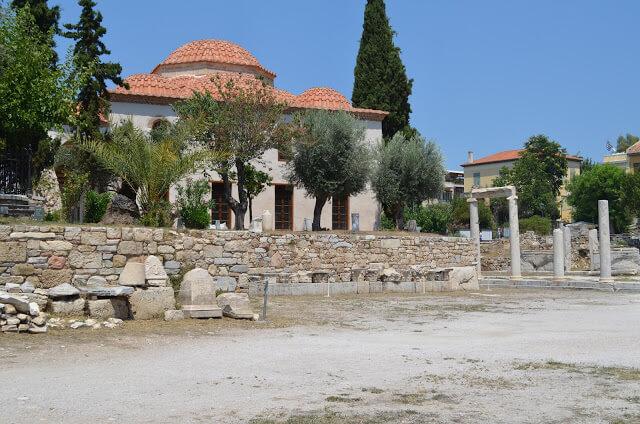 Agora Romano em Atenas