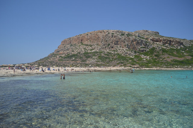 Uma das praias mais bonitas de Creta