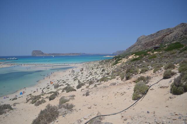 Melhores praias da Grécia - Balos Beach