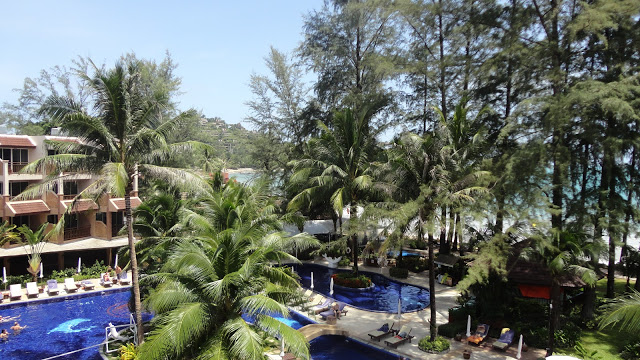 Piscina do hotel Best Western Premier Bangtao Beach Resort & Spa