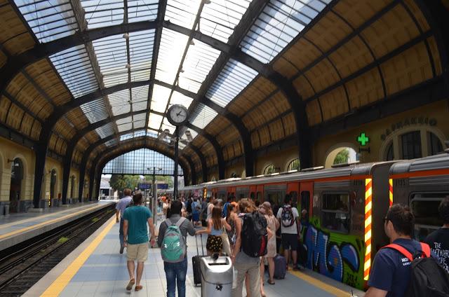 Saindo do centro Atenas até o Porto de Pireus
