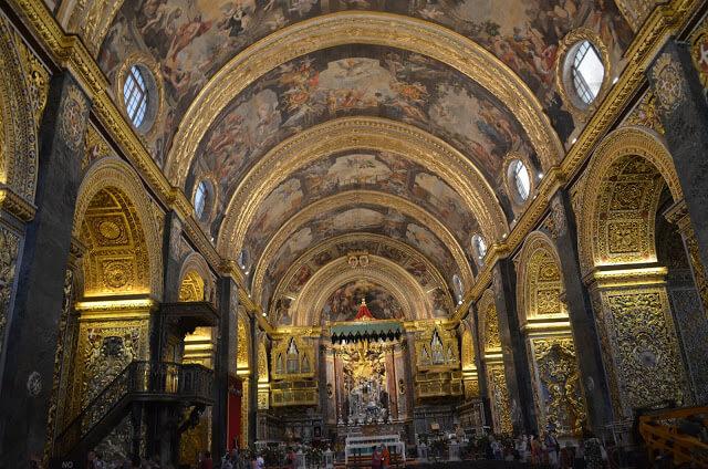 Por dentro da Co-Cathedral de St John