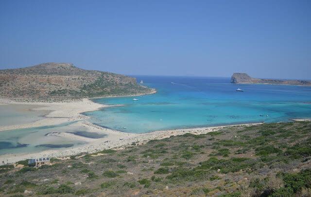 Como chegar na praia de Balos Beach, na Ilha de Creta?