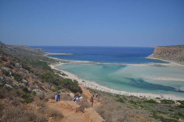Balos creta Grécia