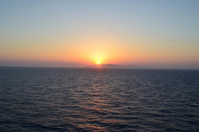 Sunset en Rodas