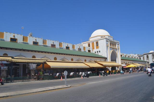 mercado de Mandraki
