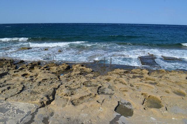 Banhos Romanos na cidade de Malta - Silema