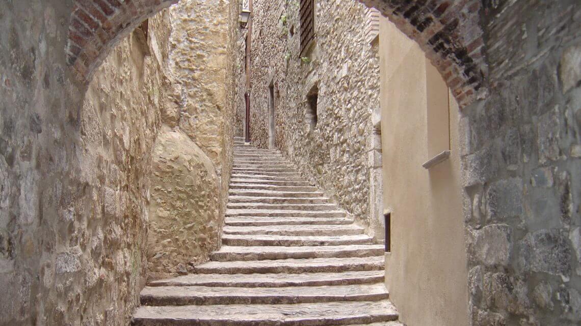 Girona ou Gerona, cidade medieval da Catalunha