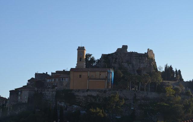 Èze - Cidade Medieval no alto das montanhas da Côte D´Azur
