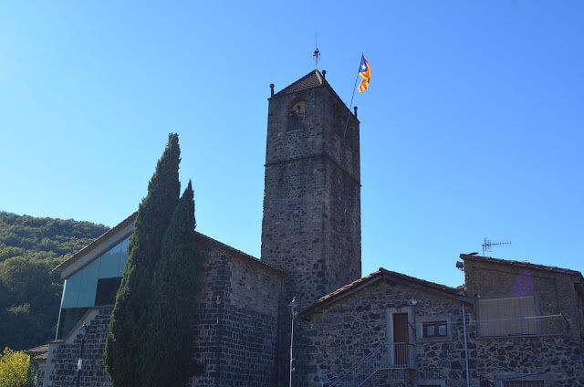 Castellfollit de la Roca na Catalunha
