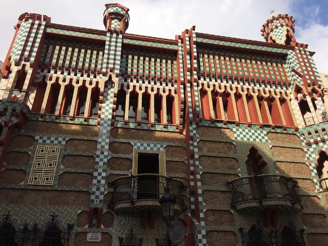Casa Vicens 16/11 inaugurazione