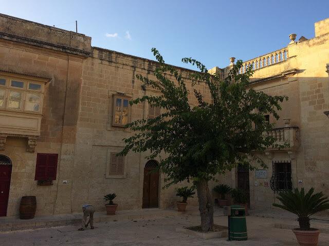Dentro da cidade Mdina