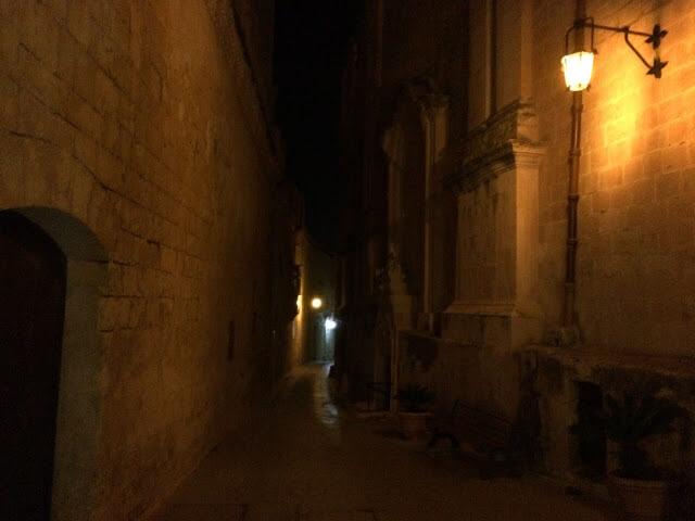 Mdina a noite