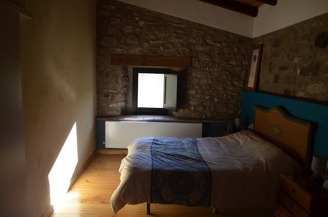 Quarto do Hotel Mas Campolier