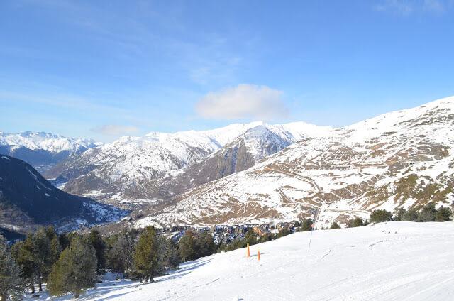 Estação de Esquí Baqueira Beret, a maior da Espanha