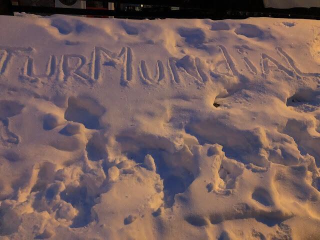TurMundial na neve