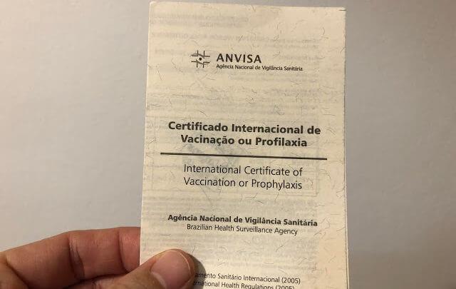 Certificado Internacional de Vacinação ou Profilaxia