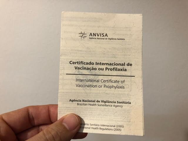 Vacina contra a febre amarela e validade do Certificado Internacional de Vacinação
