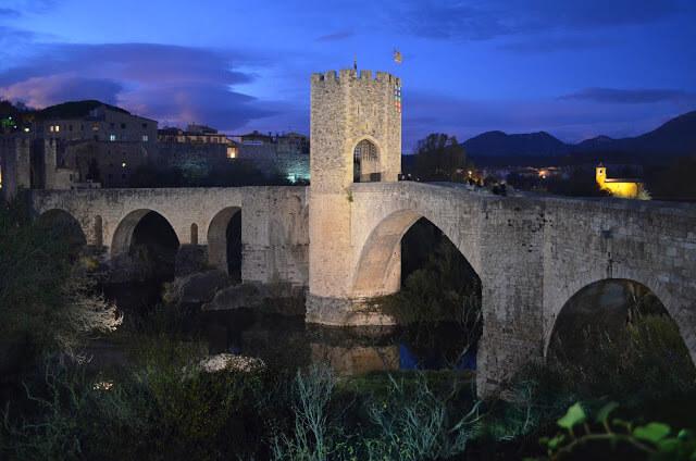 ponte romana de Besalu