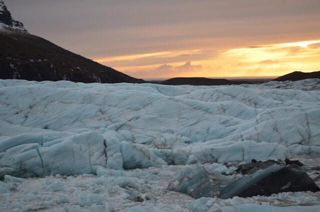 Glacial Sólheimajökull