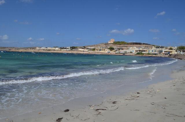 Praia de Armier Bay Beach