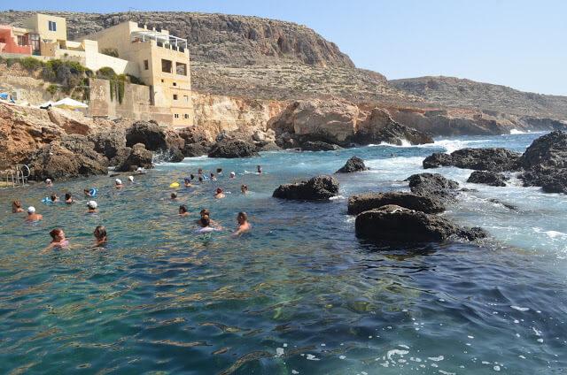 praia de Ghar Lapsi Divesite