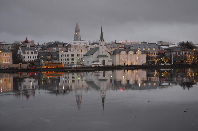 Lago Reykjavíkurtjörn