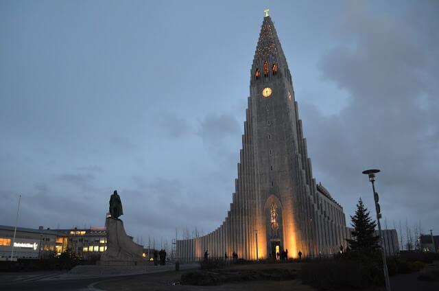 Catedral de Reiquiavique a Hallgrímskirkja