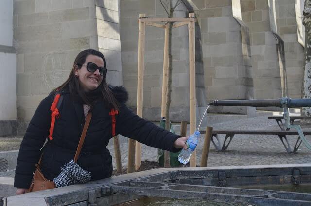 Fontes de água potável, Zurique