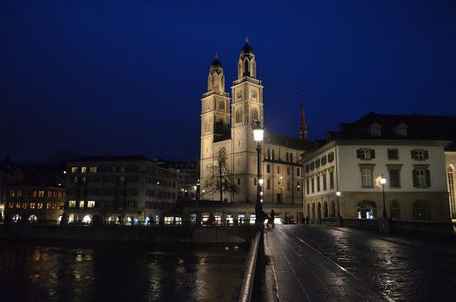 Catedral Grossmünster de Zurique