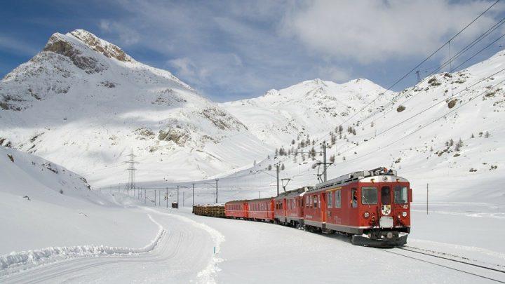 Como comprar passagem de trem na Suíça?