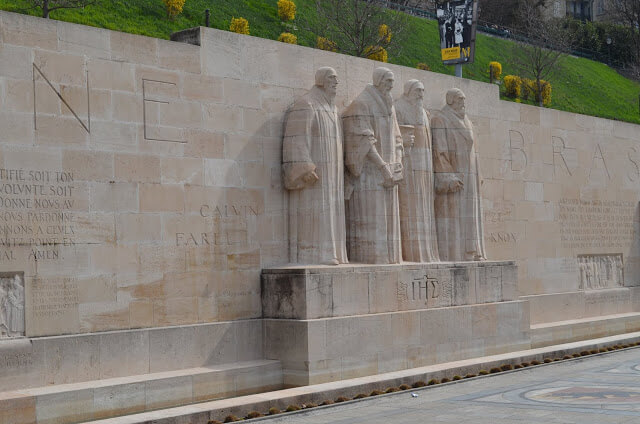 Muro dos Reformadores (Reformation Wall)