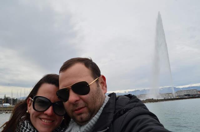 Jato de Água do Lago de Genebra (Jet d'Eau)