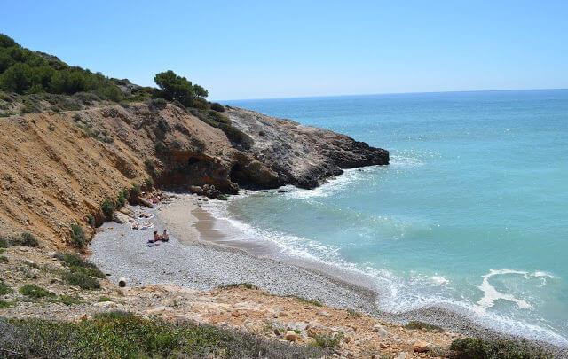 Trilha entre Sitges e Vilanueva y Geltrú (Vilanova i la Geltrú em Catalão)