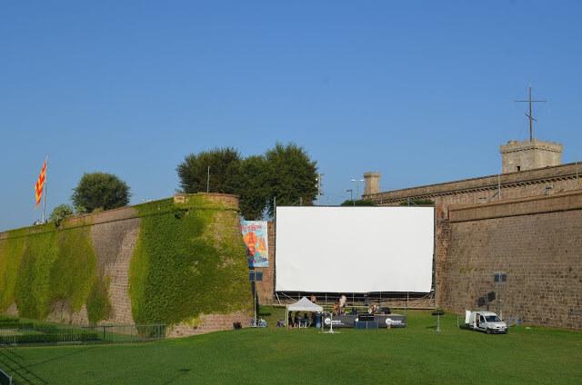cinemas ao ar livre em Barcelona