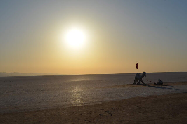 deserto de sal da Tunísia