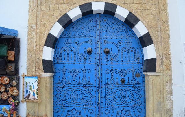 Sidi Bou Said, a cidade branca e azul da Tunísia