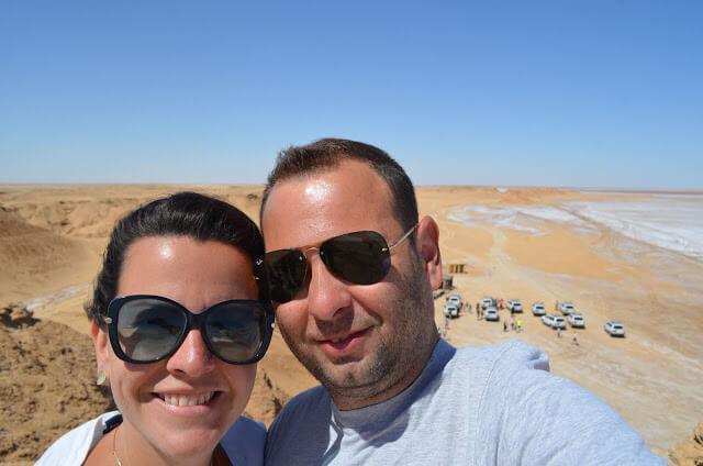 Christian Gutierrez e Priscila Gutierrez no Deserto do Sahara