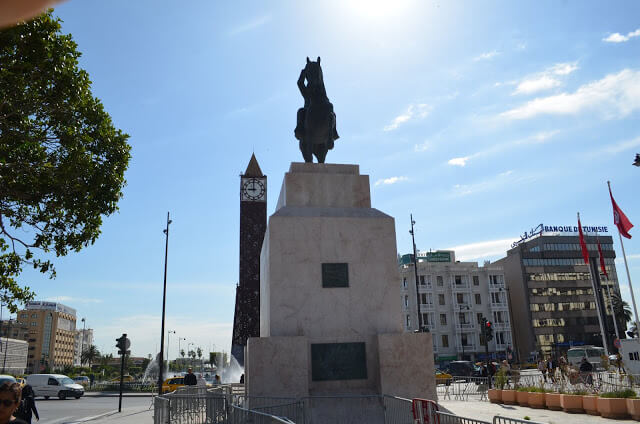 memorial ao presidente Habib Bourguiba Victory Day Monument