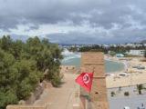 Hammamet, belles plages en Tunisie, près de la capitale Tunis