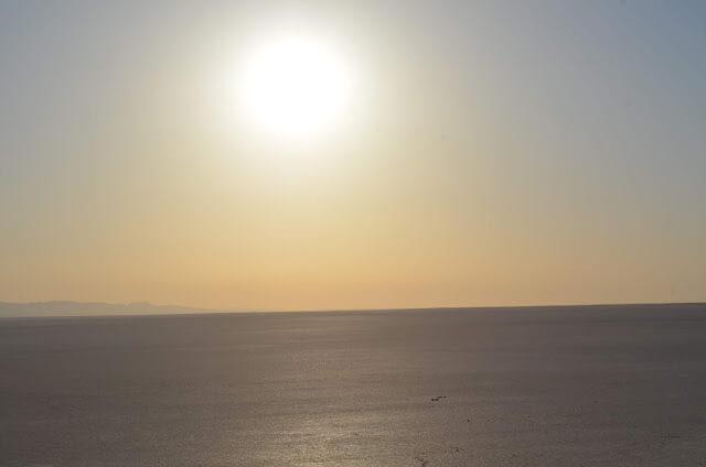 lago de sal de Chott el Jerid