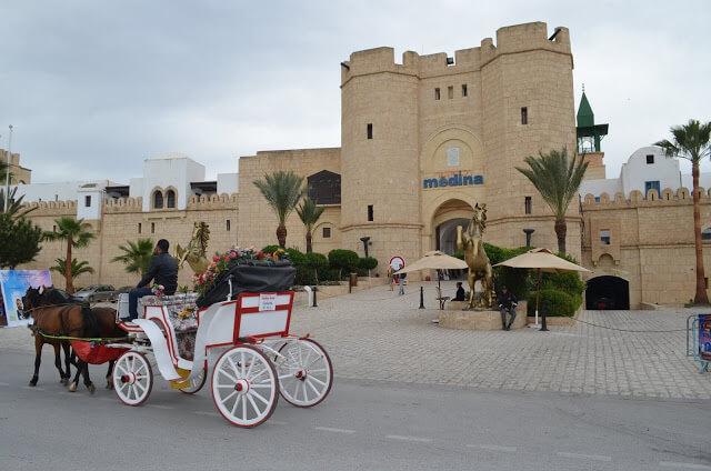 Yasmine Hammamet, fomos até a nova Medina
