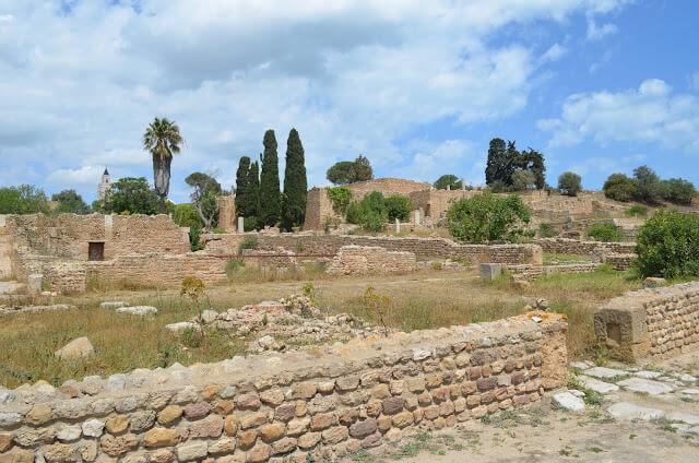 Cartago, a antiga capital do imperio Cartago