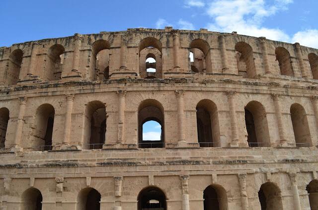 El Jem onde tem o Anfiteatro Romano