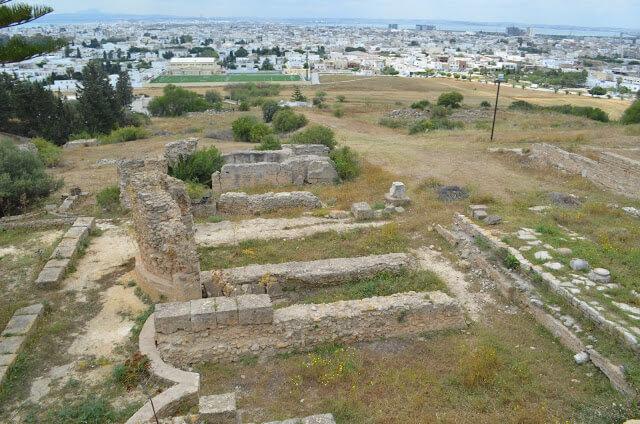 sitio arqueológico romano e cartaginés
