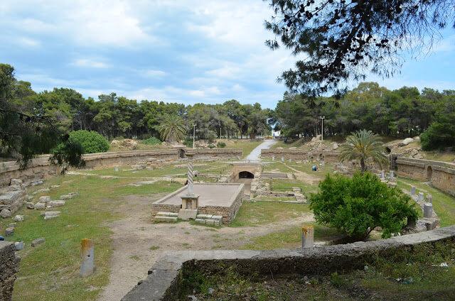anfiteatro romanos o Amphithéâtre de Carthage