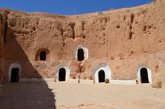Matmata, la antigua ciudad de bereberes
