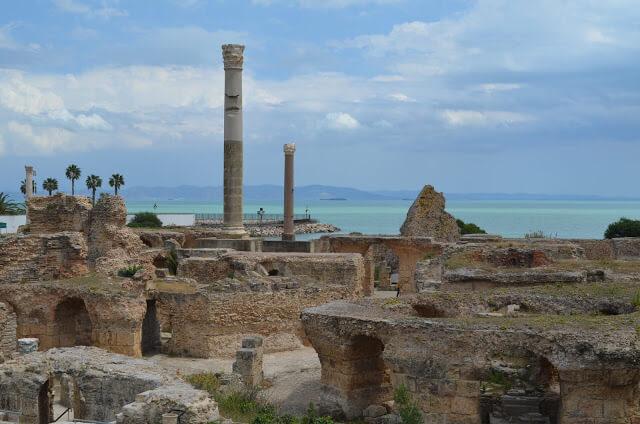 Ruinas do Imperio Romano na Tunísia