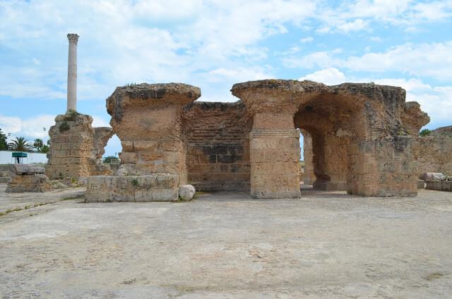 Antonine Baths Tunísia